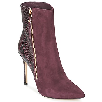 Παπούτσια Γυναίκα Χαμηλές Μπότες MICHAEL Michael Kors DAWSON BOOTIE BORDEAUX