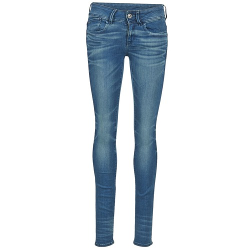 Υφασμάτινα Γυναίκα Skinny jeans G-Star Raw LYNN MID SKINNY μπλέ