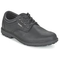 Παπούτσια Άνδρας Derby Rockport RGD BUC WP PLAINTOE Black