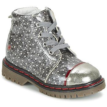 Παπούτσια Κορίτσι Μπότες GBB NEVA Grey / Imprimé