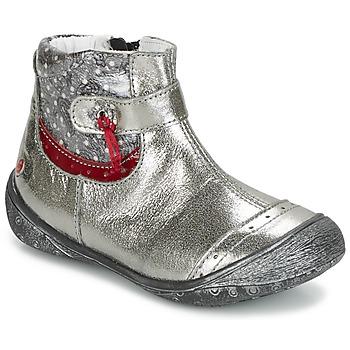 Παπούτσια Κορίτσι Μπότες GBB NYMPHE Grey / Imprimé
