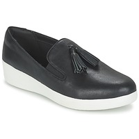 Παπούτσια Γυναίκα Slip on FitFlop TASSEL SUPERSKATE Black