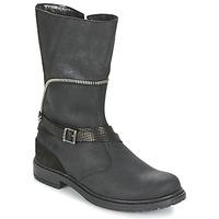 Παπούτσια Κορίτσι Μπότες για την πόλη Ikks FLORA Black