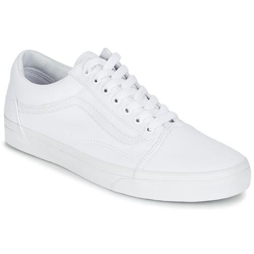 Vans OLD SKOOL Άσπρο - Δωρεάν Αποστολή στο Spartoo.gr ! - Παπούτσια ... c58a375fefd