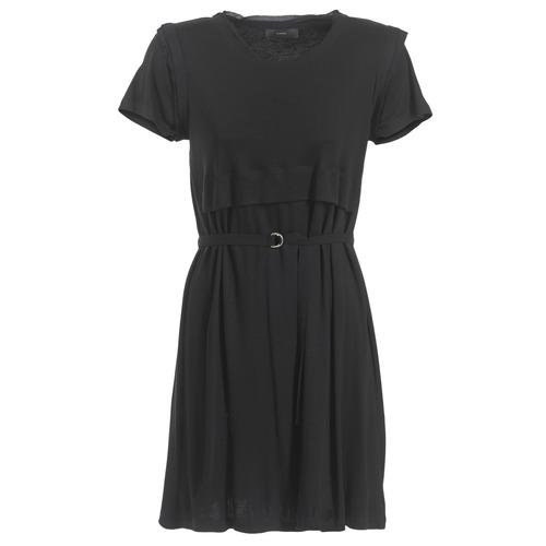 Υφασμάτινα Γυναίκα Κοντά Φορέματα Diesel D LETO Black