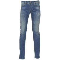 Υφασμάτινα Άνδρας Skinny jeans Diesel SLEENKER Μπλέ / 0855q