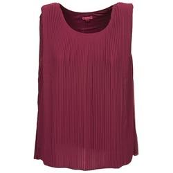 Υφασμάτινα Γυναίκα Αμάνικα / T-shirts χωρίς μανίκια Bensimon REINE Prune