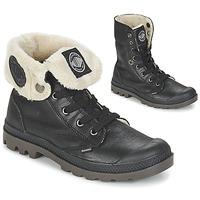 Παπούτσια Γυναίκα Μπότες Palladium BAGGY LEATHER FS Black