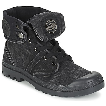 Παπούτσια Άνδρας Μπότες Palladium US BAGGY Black / Μεταλικό