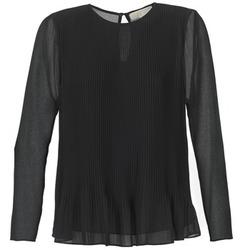 Υφασμάτινα Γυναίκα Μπλούζες MICHAEL Michael Kors SOSEN Black