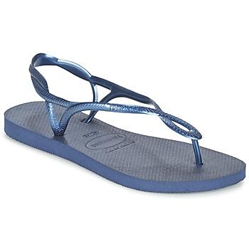 Παπούτσια Γυναίκα Σαγιονάρες Havaianas LUNA Μπλέ / Marine