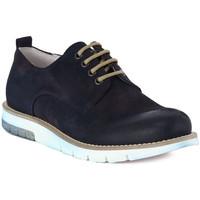 Παπούτσια Άνδρας Derby Pawelk's PAWELKS CAMOSCIO EXEL Blu