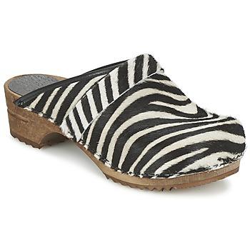 Παπούτσια Γυναίκα Σαμπό Sanita CAROLINE Ζέβρα