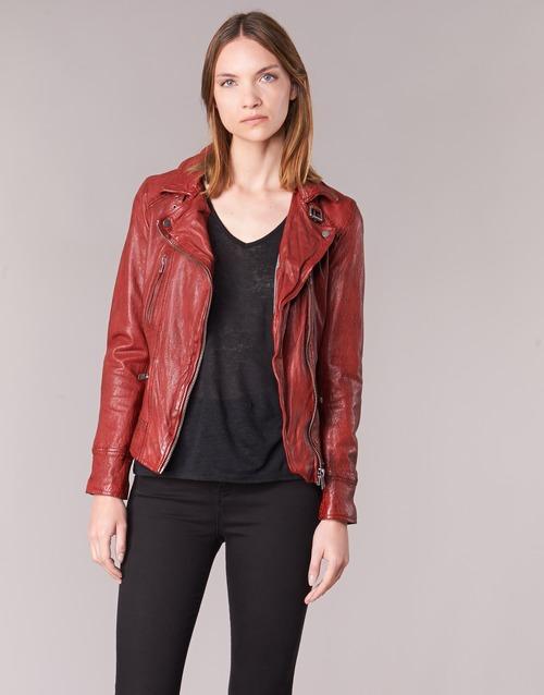 Υφασμάτινα Γυναίκα Δερμάτινο μπουφάν Oakwood 62065 Red