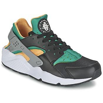 Παπούτσια Άνδρας Χαμηλά Sneakers Nike AIR HUARACHE RUN Black / Yellow / Green