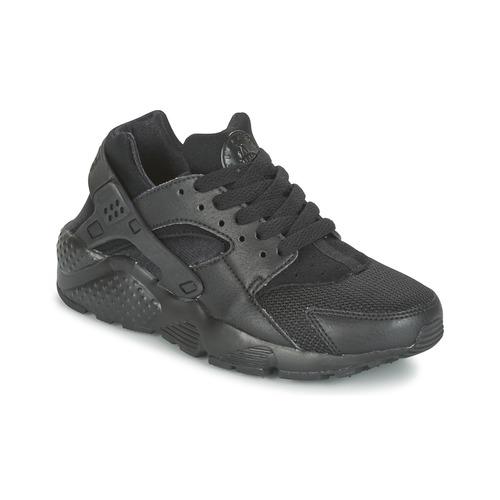 Παπούτσια Παιδί Χαμηλά Sneakers Nike HUARACHE RUN JUNIOR Black