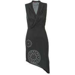 Υφασμάτινα Γυναίκα Κοντά Φορέματα Desigual RAZIANA Black