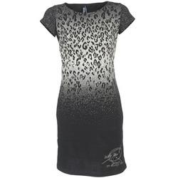 Υφασμάτινα Γυναίκα Κοντά Φορέματα Desigual BELFUME Black / άσπρο
