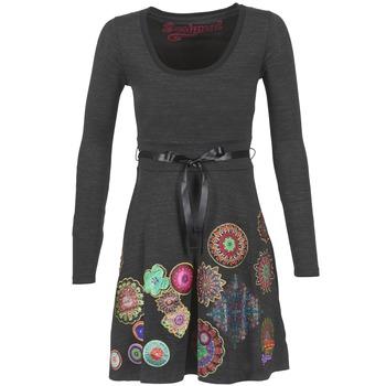 Υφασμάτινα Γυναίκα Κοντά Φορέματα Desigual RIDOUBA Grey