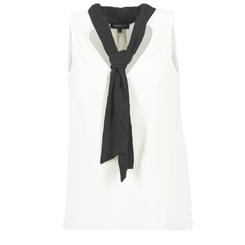 Υφασμάτινα Γυναίκα Μπλούζες Morgan OREA άσπρο / Black