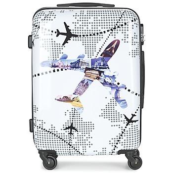 Βαλίτσα με σκληρό κάλυμμα David Jones OUSKILE 50L