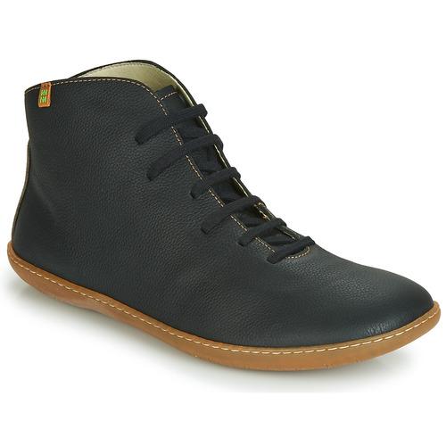 Παπούτσια Μπότες El Naturalista EL VIAJERO Black