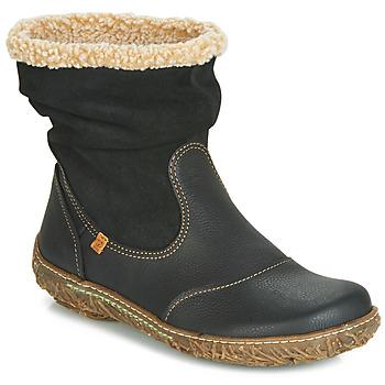 Παπούτσια Γυναίκα Μπότες El Naturalista NIDO Black
