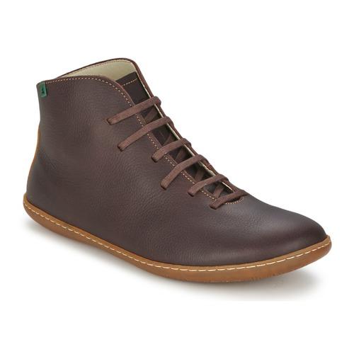 Παπούτσια Άνδρας Μπότες El Naturalista EL VIAJERO Brown