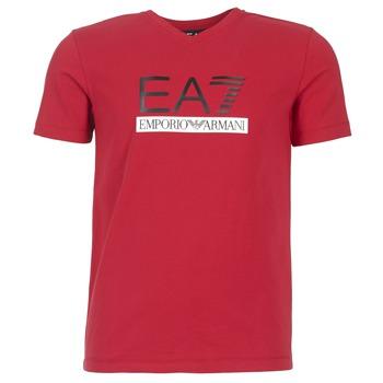 Υφασμάτινα Άνδρας T-shirt με κοντά μανίκια Emporio Armani EA7 MOFRAGO Red
