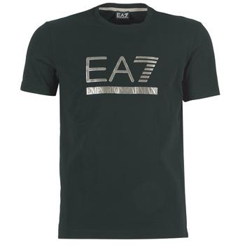 Υφασμάτινα Άνδρας T-shirt με κοντά μανίκια Emporio Armani EA7 MAGGAROL Black