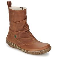 Παπούτσια Γυναίκα Μπότες El Naturalista NIDO Brown