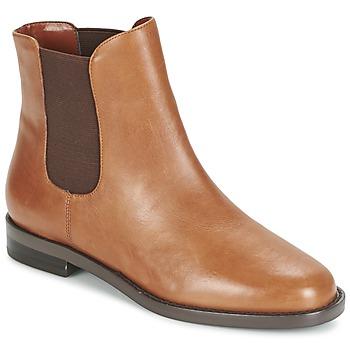Παπούτσια Γυναίκα Μπότες Ralph Lauren BELVA COGNAC