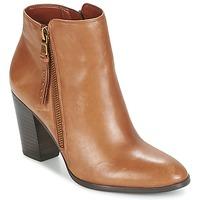 Παπούτσια Γυναίκα Χαμηλές Μπότες Ralph Lauren FAHARI COGNAC