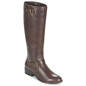 Παπούτσια Γυναίκα Μπότες για την πόλη Ralph Lauren MARRONA Brown
