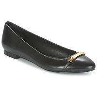 Παπούτσια Γυναίκα Μπαλαρίνες Ralph Lauren FARREL-FLATS-CASUAL Black