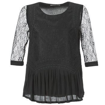 Υφασμάτινα Γυναίκα Μπλούζες See U Soon SATURNIN Black