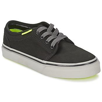 Παπούτσια Παιδί Χαμηλά Sneakers Vans 106 VULCANIZED Black / Grey / Yellow