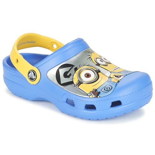 Παπούτσια Παιδί Σαμπό Crocs CC Minions Clog Μπλέ / Yellow