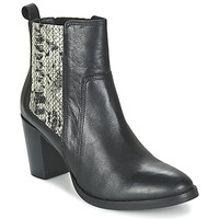 Παπούτσια Γυναίκα Μποτίνια Betty London FLARA Black / Python