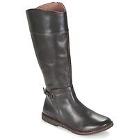 Παπούτσια Γυναίκα Μπότες για την πόλη Kickers CRICK Brown / Fonce
