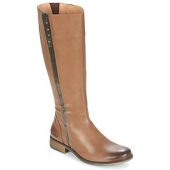 Παπούτσια Γυναίκα Μπότες για την πόλη Kickers LONGBOTTE Brown / Gold