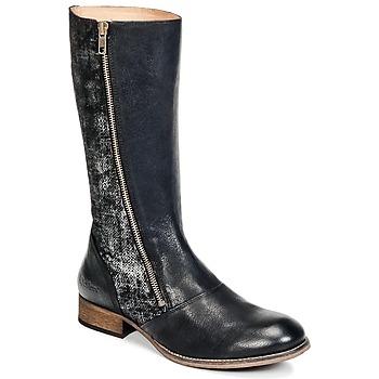 Παπούτσια Γυναίκα Μπότες για την πόλη Kickers PENNYHO Black / Brillant
