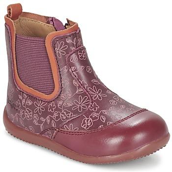 Παπούτσια Κορίτσι Μπότες Kickers BIGOR BORDEAUX / Orange