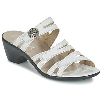 Παπούτσια Γυναίκα Τσόκαρα Romika Gorda 01 άσπρο