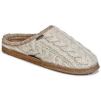 Παπούτσια Γυναίκα Παντόφλες Giesswein NEUDAU Beige