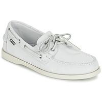 Παπούτσια Άνδρας Μοκασσίνια Sebago DOCKSIDES Άσπρο