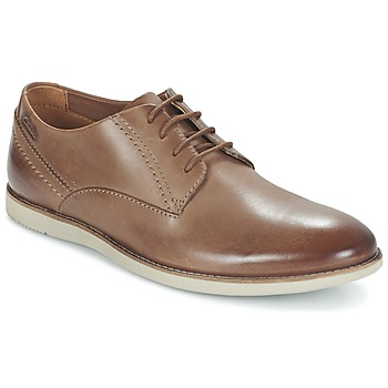 Παπούτσια Άνδρας Derby Clarks FRANSON PLAIN Brown