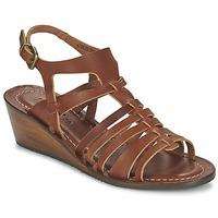 Παπούτσια Γυναίκα Σανδάλια / Πέδιλα Kickers FASTA Brown