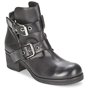 Παπούτσια Γυναίκα Μποτίνια Strategia CRECA Black