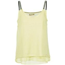 Υφασμάτινα Γυναίκα Αμάνικα / T-shirts χωρίς μανίκια Les P'tites Bombes BRICCOM Yellow
